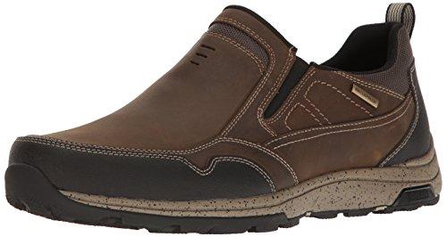 Dunham Heren Trucker Slip Op Mode Sneaker Taupe