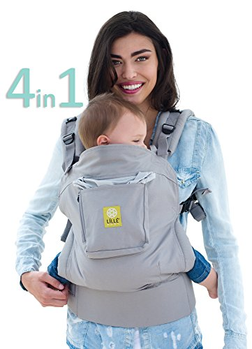 Cheap 4 in 1 ESSENTIALS Baby Carrier by LILLEbaby – Grey