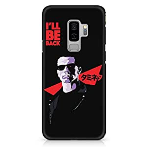 Loud Universe I will be back Kawai Samsung S9 Plus Case Arnold Samsung S9 Plus Cover with 3d Wrap around Edges