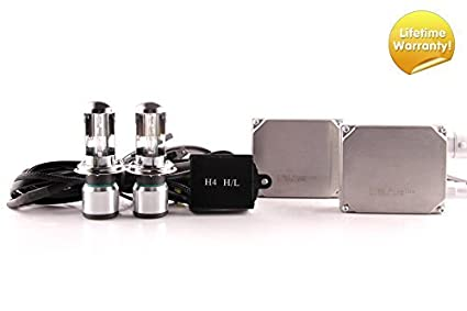 DDM Tuning Ultra 35W HID Kit All Bulb Types and Colors (H4 Hi/Lo, 4500K)