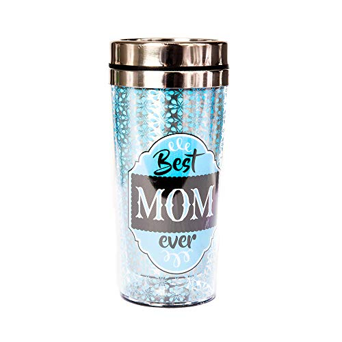 Best Mom Travel Mug Insulated Tumbler for Hot & Cold - Mother's Day, Valentine's Day, Birthday, Gifts for Mom