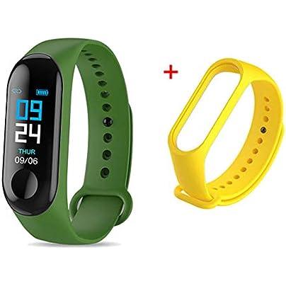 DMMDHR Smart Watch Bracelet Band Fitness Tracker Messages Reminder Color Screen Waterproof Sport Wristband For men women Estimated Price £30.02 -