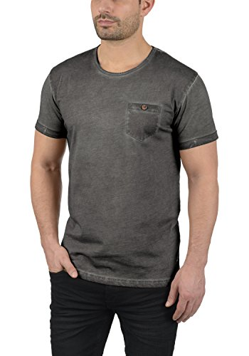 2890 Grey Homme Solid – Teil T Dark shirt qOFYR0nF