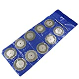 Industrial Tool Accessories 10PCS 50mm (2″inch) Diamond Coated Rotary Cutting Cut Off Blade Wheels s
