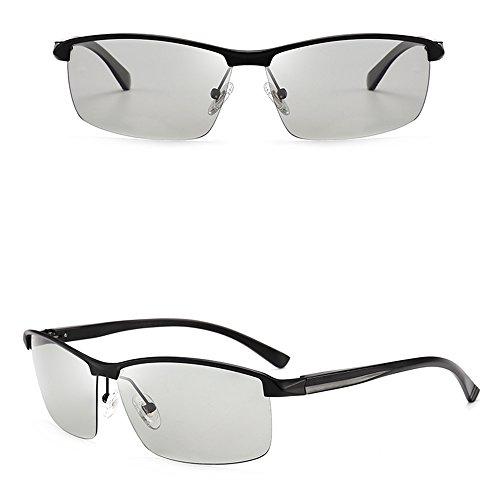 Decoloration Drive pescar Intelligent anti Color Men gafas GYYTYJ Sunglasses D SSSX D Polarizer de UV Sombra qYUwzt
