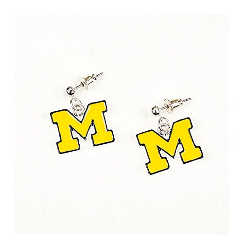 Seasons Jewelry University of Michigan Enamel Logo - Michigan Enamel