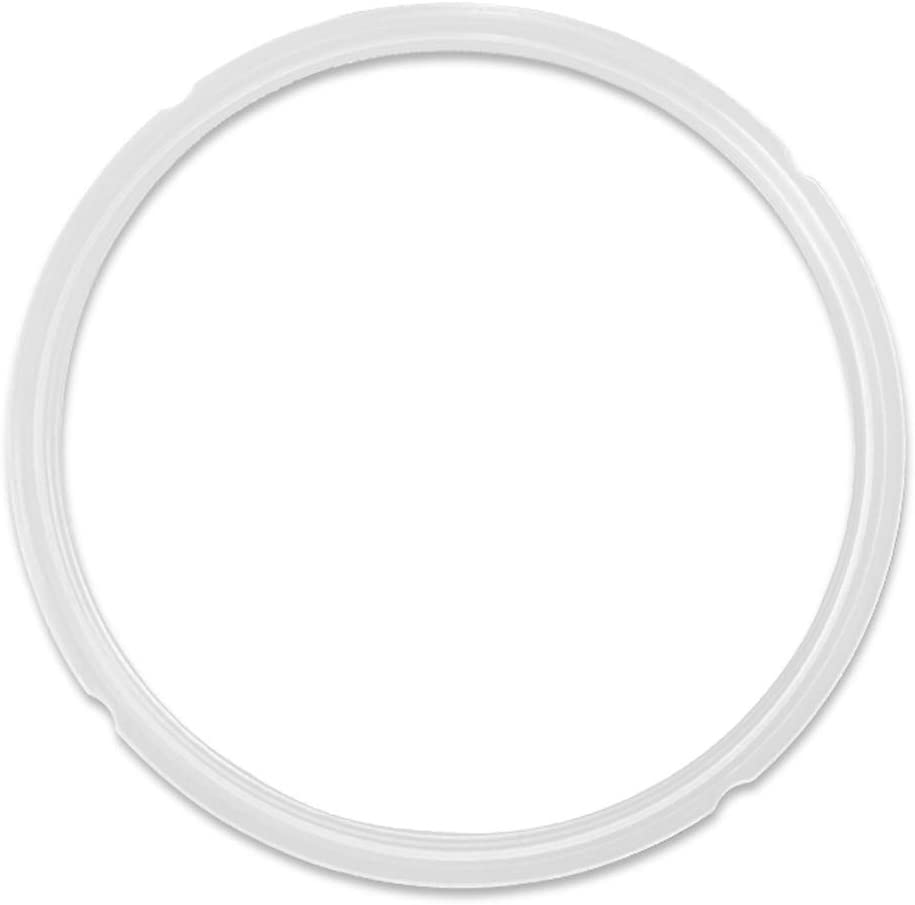 BSTY IAIQ Silicone Sealing Ring for 8Q Pressure Cooker, BPA-Free, 2 Pack, White