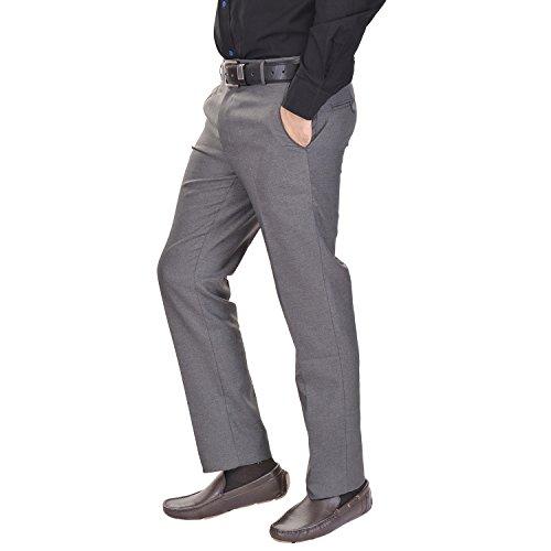 41dxH TvDrL. SS500  - AD & AV Men's Formal Trouser (GDGREY_137_BB) - Grey