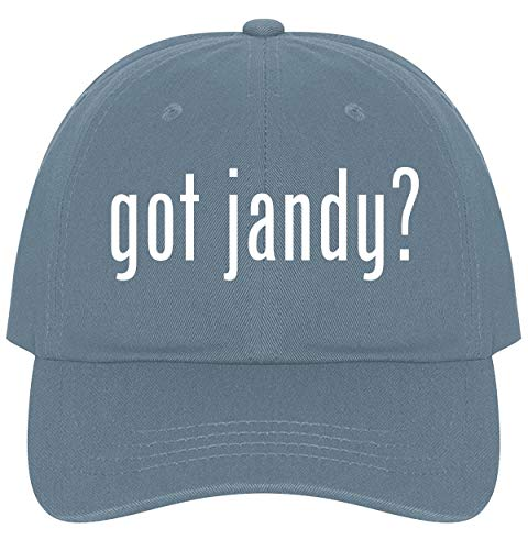 The Town Butler got Jandy? - A Nice Comfortable Adjustable Dad Hat Cap, Light Blue