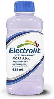 Electrolit Suero Rehidratante, Sabor Mora Azul, Color, 625 Mililitros (Ml), Pack Of/Paquete De