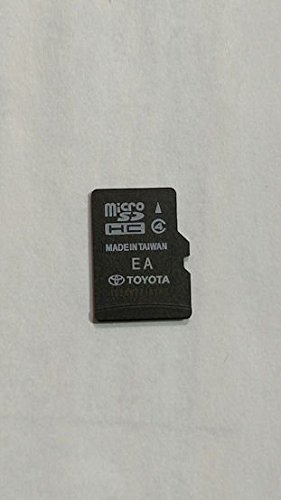 (0E183 2014 2015 2016 Toyota Camry Highlander Tundra Tacoma Corolla Avalon Sequoia Rav4 4-runner Navigation Micro SD Card ,Map Update chip , GPS , 86271-0E183 , OEM)