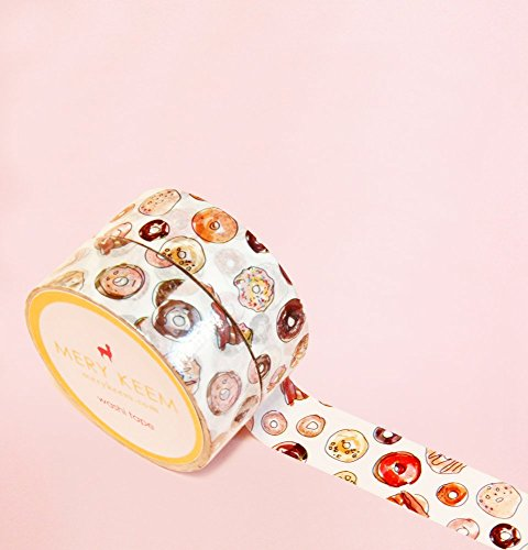 Yummy Donuts Washi Tape for Planning • Scrapbooking • Arts Crafts • Office • Party Supplies • Gift Wrapping • Colorful Decorative • Masking Tapes • DY…