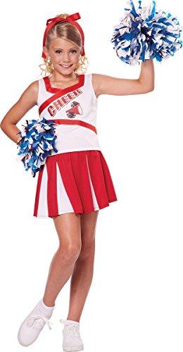 California Costumes High School Cheerleader Costume, 4-6 -