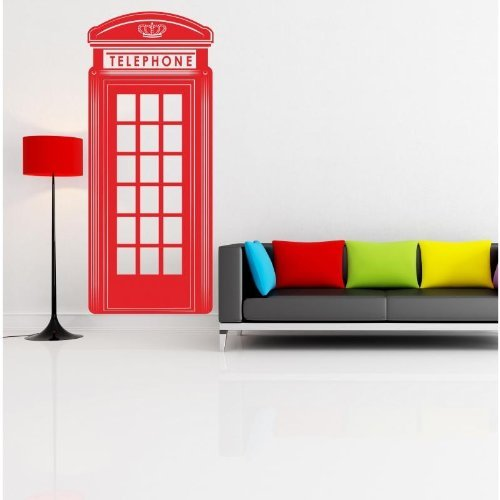 london-red-telephone-box-cabina-telefonica-inglese-wallstickers-vinyl-wall-stickers-decals-by-adesiv