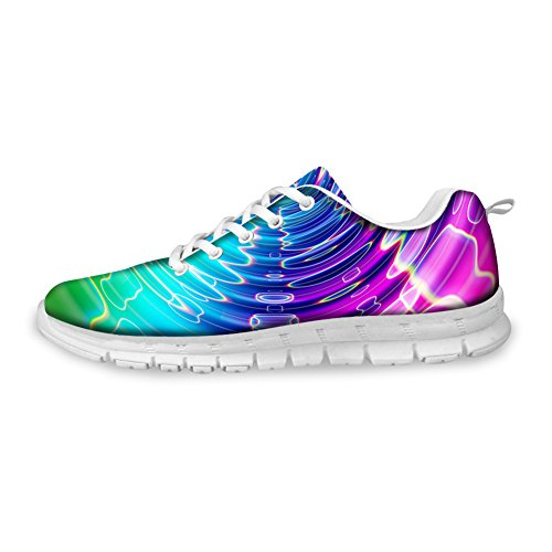 HUGS IDEA HUGSIDEA colorful Womens Fashion Sneakers Lightweight Running Shoes Colorful 4 baJRr1JF8y