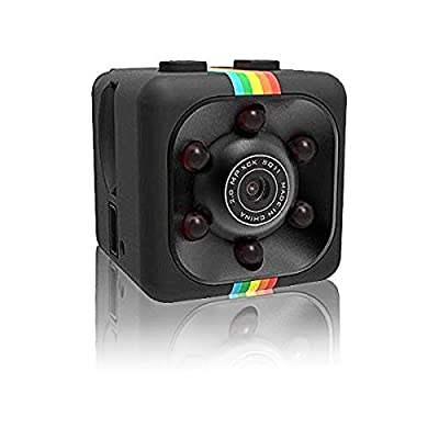 Hidden Spy Camera Mini Portable Wireless Security Dashcam Motion Detection Indoor and Outdoor Surveillance - Home Office or Car Video Recorder 1080p HD Recording Night Vision - Small Stealth USB Drone by Vital