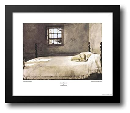 Master Bedroom, C.1965 23x20 Framed Art Print By Wyeth, Andrew