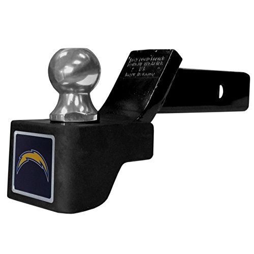 San Diego Chargers Trailer Hitch (NFL San Diego Chargers Shin Shield Hitch Class V Cover, Black)