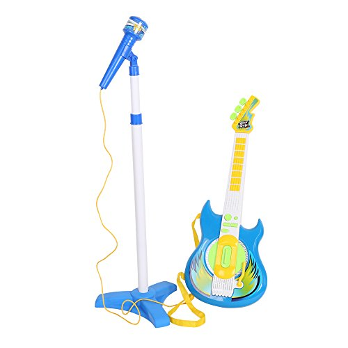 COLOR TREE Kids Music Guitar Players Karaoke Toy with Micphone