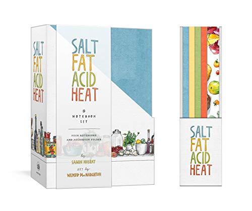 Book cover from Salt, Fat, Acid, Heat Four-Notebook Set by Samin Nosrat