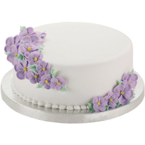 Wilton 14-Inch Round Silver Cake Base, 2-Pack