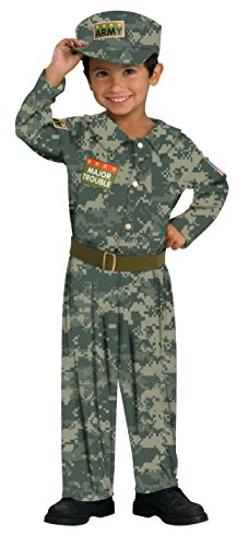 Rubies Major Trouble Army Soldier Child Costume,