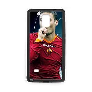 Samsung Galaxy Note 4 Cell Phone Case Black Associazione Sportiva Roma Francesco Totti SUX_181668