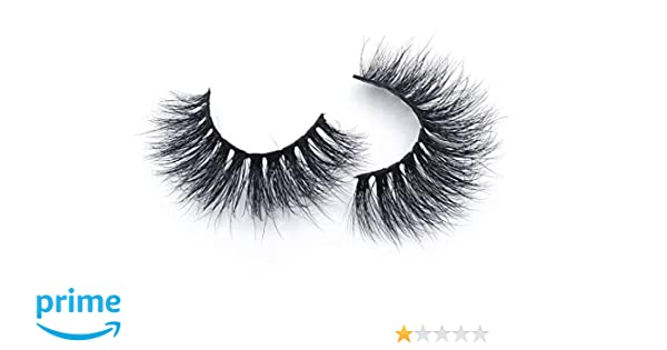 ecc3f6496c0 Amazon.com : EYELICIOUS LASHES - 3D Mink Eyelashes Most Natural Mink  Falsies Handmade With Authentic Mink Hair Cruelty Free Single Pair Dramatic  Lashes ...