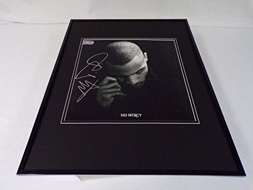 T.I. Tip Harris Signed Framed 16x20 No Mercy Poster Display JSA TI ()