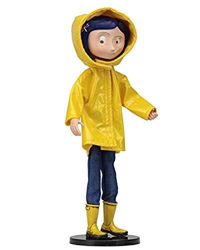 NECA 49503 Coraline Fashion Doll, Yellow, Blue