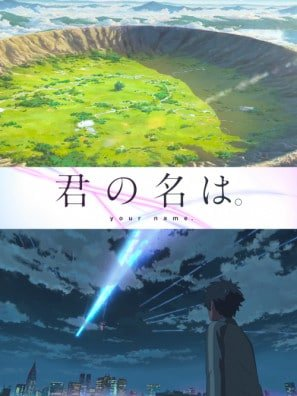 Kimi No Na Wa Your Name Japanese Imported Movie Wall Poster