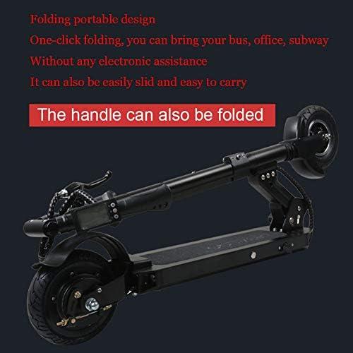Amazon.com: ZBB - Patinete eléctrico plegable y ligero con ...