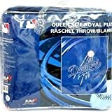 MLB Los Angeles Dodgers Queen Size Throw Blanket