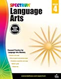 Carson Dellosa - Spectrum Language Arts, Focused Practice for Language Arts Mastery for 4th Grade, 200 Pages, Ages 9-10 with Answer Key
