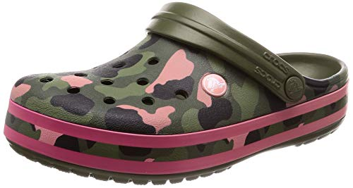 Melon Graphic Verde Seasonal Unisex Army Crocband Crocs Adulto Green zSULpjqMVG