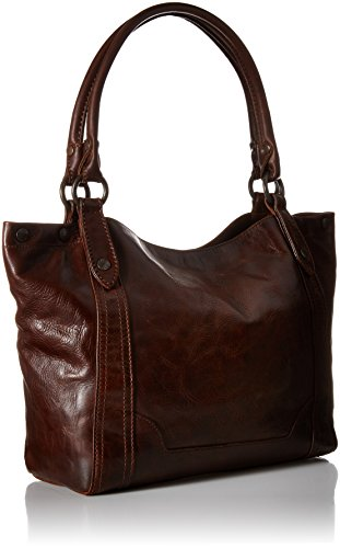 Brown FRYE Melissa Leather Handbag Dark Shoulder Xq16f4wqA