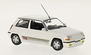 Renault 5 GT Turbo, blanco, 1989, Coche a escala, Modelo a escala, Norev 1:43: Amazon.es: Juguetes y juegos
