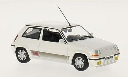 Renault 5 GT Turbo, blanco, 1989, Coche a escala, Modelo a escala