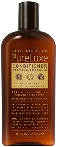 Intelligent Nutrients - PureLuxe Conditioner for Dry and Damaged Hair, 15oz