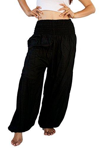 siam-secrets-unisex-alibaba-harem-beach-yoga-pants-one-size-black