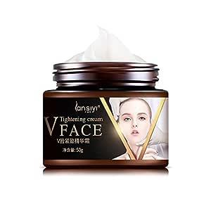 Cutelove Slimming Cream For Face Lifting Cream Fat Burning Shaping V Face Firming Skin Facial Tightening Slimming Cream 50g