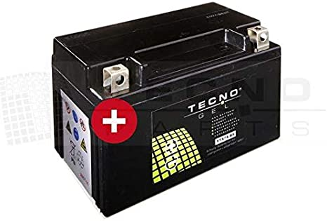 Tecno Gel Motorrad Batterie Ytx7a Bs 12v Gel Batterie 6ah Din 50615 151x87x94 Mm Inkl Pfand Auto