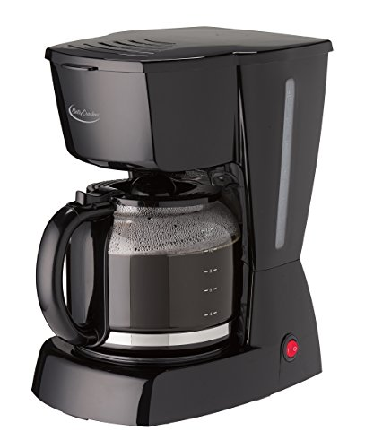 Betty Crocker BC-2806CB 12-Cup Coffee Maker, Black