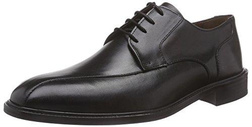 Manz Terni - Zapatos de cordones derby Hombre Negro - Schwarz (schwarz 001)