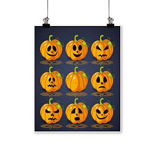 Home Decor Poster,Banner and Background for Pumpkins for
