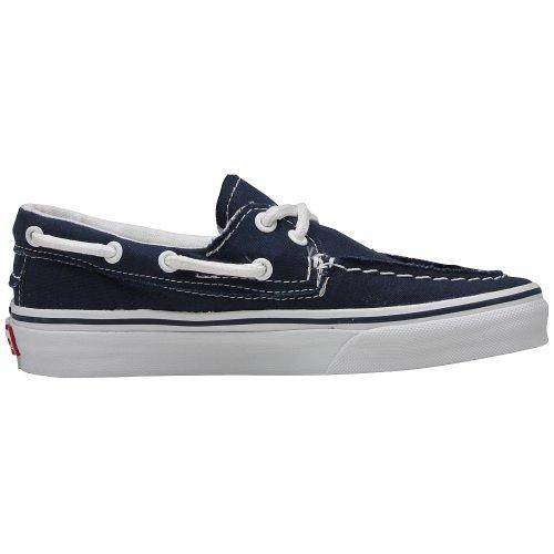 Navy True Vans del Zapato Boat Shoe White Barco qXHq1w