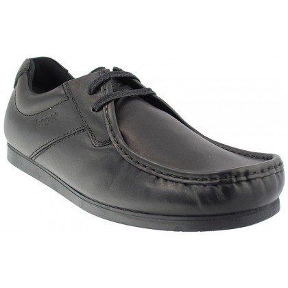 Ikon , Chaussures de ville à lacets pour homme noir noir