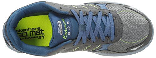 Charcoal USA Skechers USA Mens Mens Extreme Walking Skechers Flash Flash Extreme Blue Shoe Walking Shoe OwUOq0
