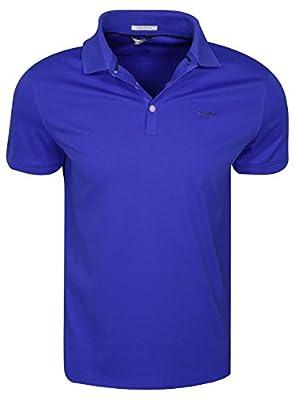 Calvin Klein Men's Liquid Cotton Polo Shirt,