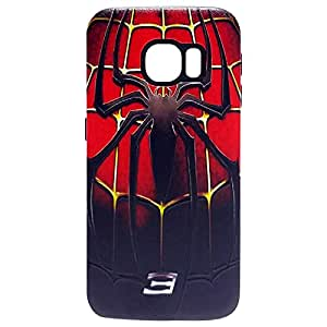 Zoot Samsung Galaxy S7 Edge Spider Print Back Cover Case - Multi Color